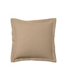 Poplin Tailored Pillow Euro Sham