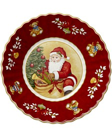 Toy's Fantasy Small Bowl: Santa Bringing Gifts