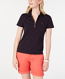 Floral-Print Polo Shirt, Created for Macy's