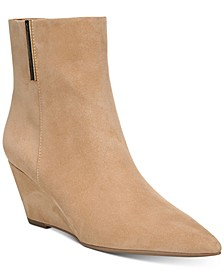Athens Wedge Booties