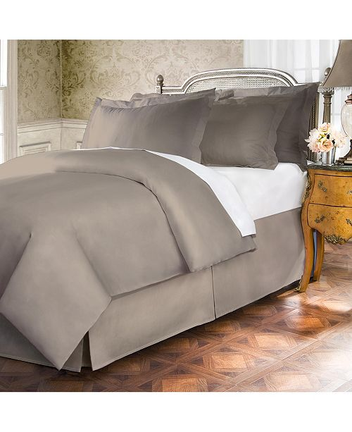 Belles Whistles Belles and Whistles Premium 400 Thread Count Extra Long Queen Bed Skirt