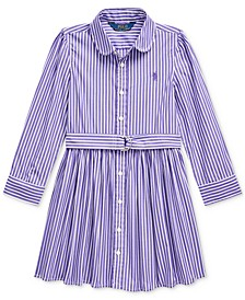 Little Girls Bengal Stripe Dress