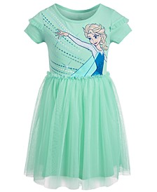 Little Girls Elsa Mesh Dress