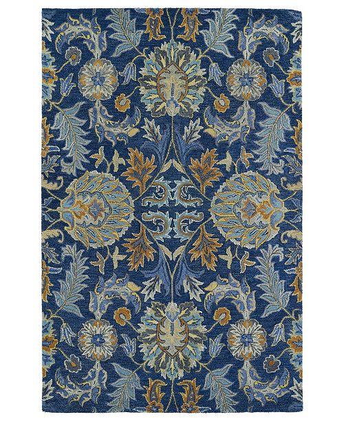 Kaleen Helena 3212-17 Blue 2' x 3' Area Rug
