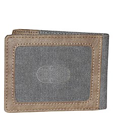 Eagle Wings Slimfold Wallet with Clip