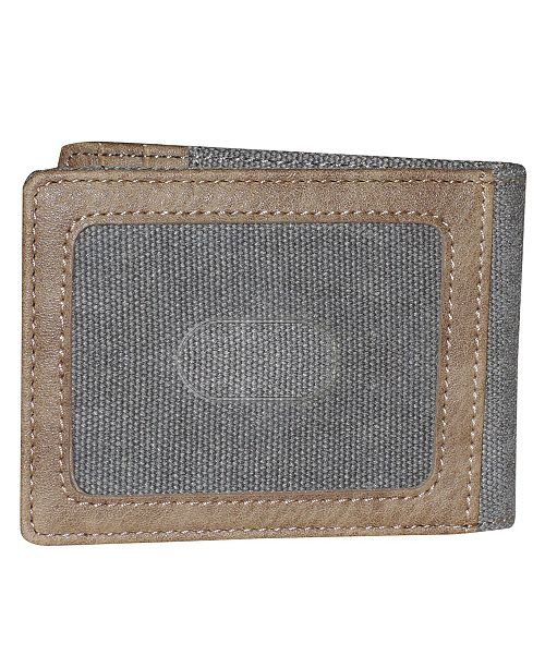 Budweiser Eagle Wings Slimfold Wallet with Clip