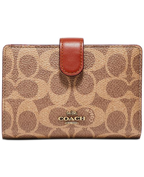 COACH Colorblock Signature Wallet