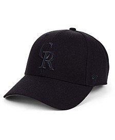 Colorado Rockies Black Series MVP Cap