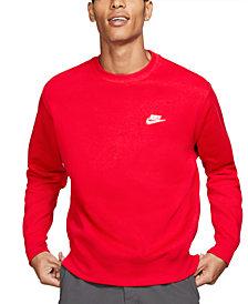 Nike Men's Club Crew Fleece Sweatshirt