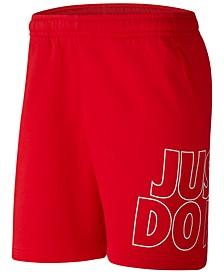 Men's Sportswear Fleece Just Do It Shorts