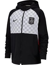 Nike Big Boys Dri-FIT Neymar Jr. Hooded Soccer Jacket