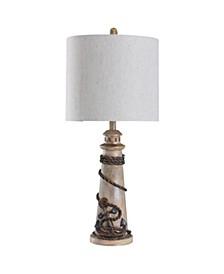 St Ives 32 Coastal Cast Body Table Lamp