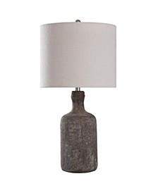 Olney Grey 30in Concrete Body Table Lamp