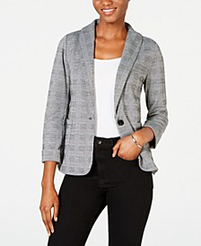 Plaid Blazer, Created for Macy's