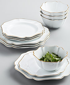 Martha Stewart Collection Baroque 12-Pc. Dinnerware Set, Service for 4, Created for Macy's