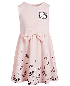 Helllo Kitty Little Girls Scattered Bows Dress