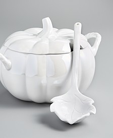 Pumpkin Soup Tureen, Created for Macy's