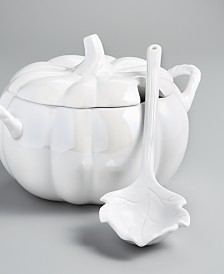 Martha Stewart Collection Pumpkin Soup Tureen, Created for Macy's