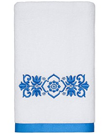 "CLOSEOUT! Scroll Cotton 16"" x 30"" Hand Towel"