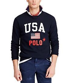 Polo Ralph Lauren Men's Big & Tall Fleece Graphic Americana Sweatshirt