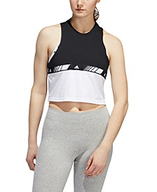 HyperSport Cotton Cropped Tank Top