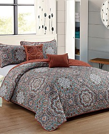 Genesis 5-Piece Quilt Set - Queen
