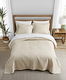Tommy Bahama Solid Dune Quilt Set, Full/Queen