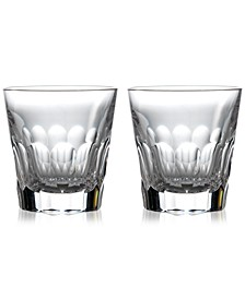 Jeff Leatham Icon Double Old-Fashioned Glasses, Set of 2