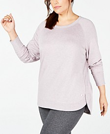 Plus Size Tulip-Hem Top, Created for Macy's