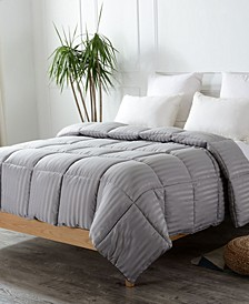 Down Alternative Striped Comforter Collection