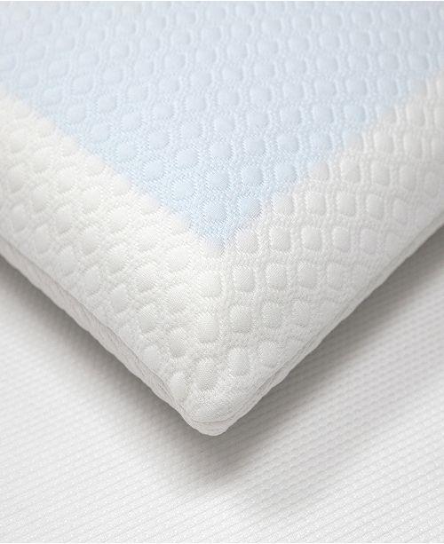 Sensorpedic Gel Overlay Memory Foam Comfort Bed Pillow