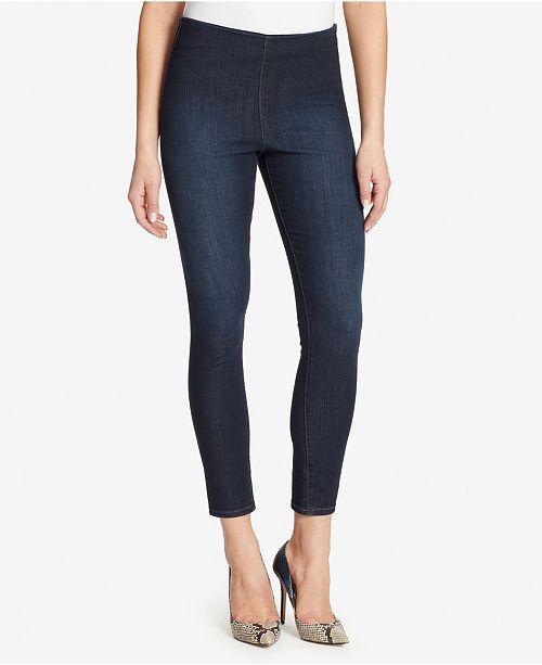Skinnygirl High Rise Pull On Skinny Ankle Jeans