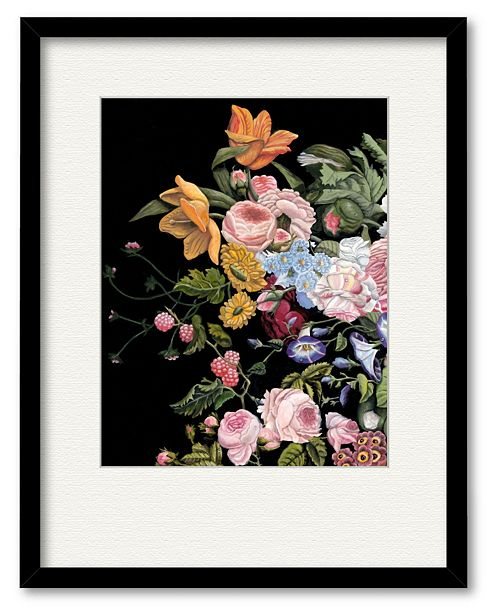 """Courtside Market A Soft Breath II 16"""" x 20"""" Framed and Matted Art"""