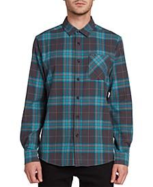 Men's Caden Herringbone Plaid Shirt