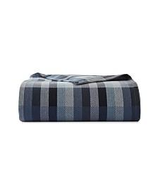 Eddie Bauer Windsor Stripe Blanket, Full/Queen