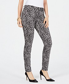 INC INCEssential Leopard Skinny Jeans, Created for Macy's