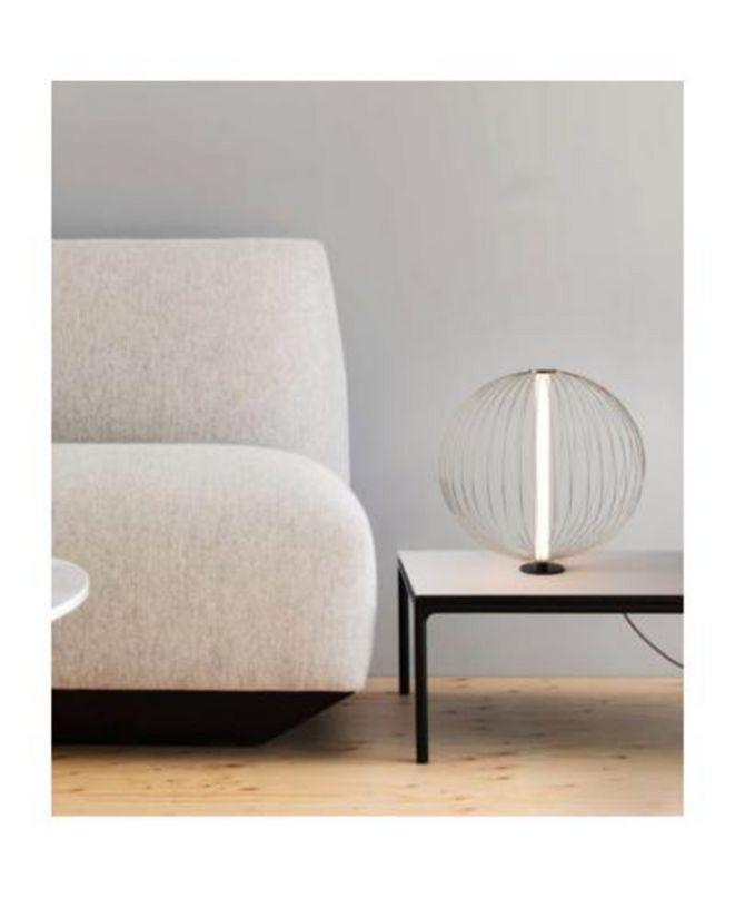 NOVA of California NOVA Lighting Spokes Table Lamp Round Small