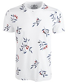 Men's Wall Floral Graphic T-Shirt