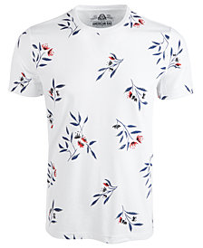 American Rag Men's Wall Floral Graphic T-Shirt