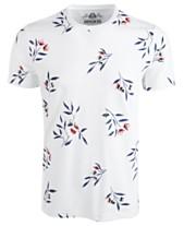 294e8c6d0d9c American Rag Men's Wall Floral Graphic T-Shirt
