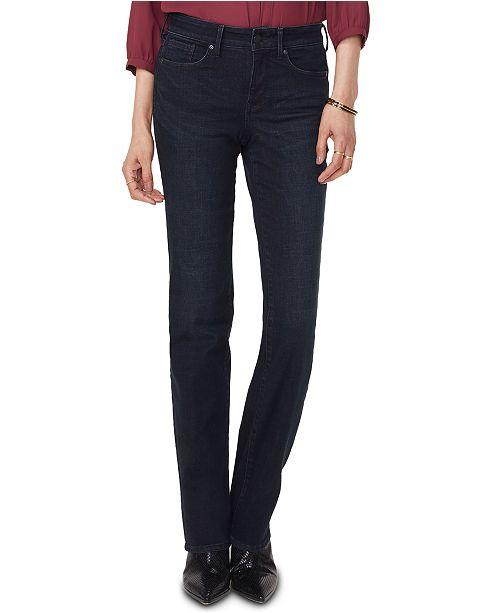 NYDJ Tummy Control Marilyn Straight Jeans