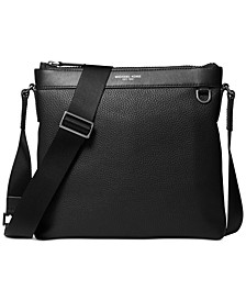 Men's Greyson Leather Crossbody Bag