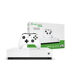 Microsoft - Xbox One S 1TB All-Digital Edition Console (Disc-free Gaming)