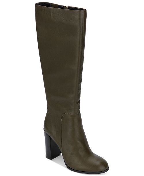 Kenneth Cole New York Women's Justin Block-Heel Tall Boots