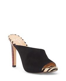 Jessica Simpson Ryanne High Heel Mules