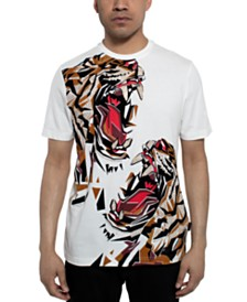 Sean John Men's Double Roar Graphic T-Shirt