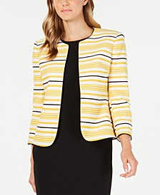 Striped Tweed Jacket