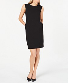 Twill Sheath Dress