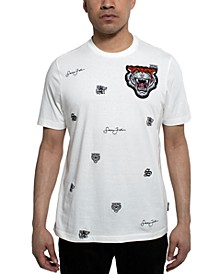 Men's Varsity Tiger Graphic T-Shirt