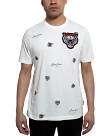 Sean John Men's Varsity Tiger Graphic T-Shirt